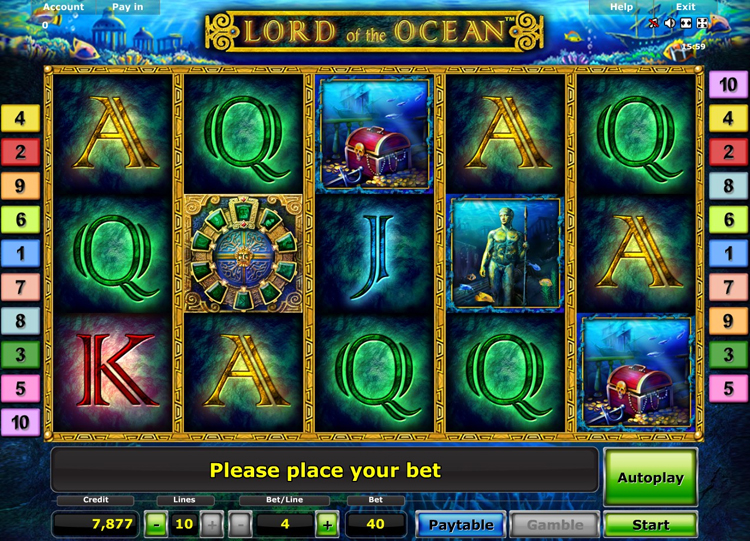 online live casino lord of the ocean kostenlos